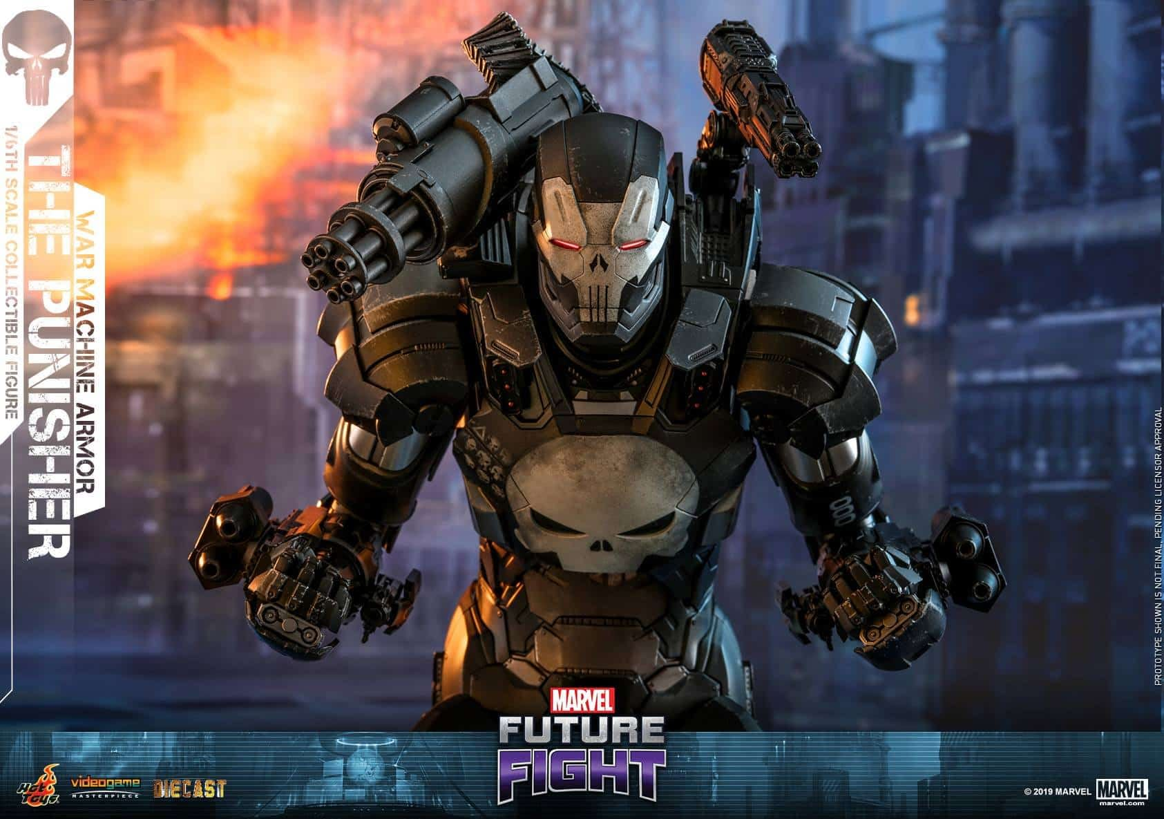 Marvel Future Fight War Machine Punisher 7