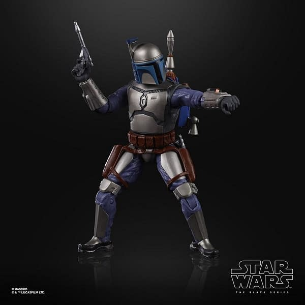 Star Wars Gaming Greats Bounty Hunter Jango Fett Revealed by Hasbro