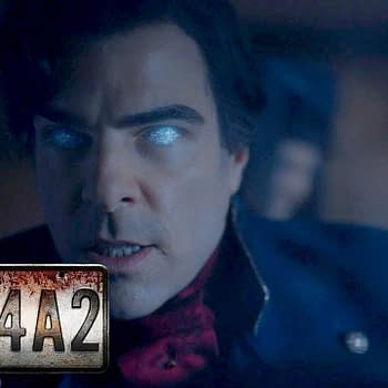 Zachary Quinto returns as Charlie Manx in NOS4A2, courtesy of AMC Networks.