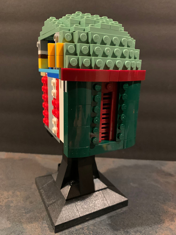 Collection de casques LEGO Star Wars 5