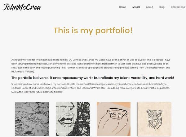 John McCrea's Website Seized By Someone Pretending To Be Him