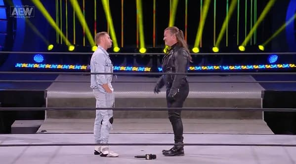 Orange Cassidy and Chris Jericho, face to face on AEW Dynamite
