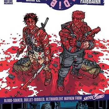 Die!Die!Die! #1 cover by Chris Burnham and Nathan Fairbairn