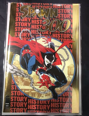 Spawn #300 Gold Foil Selling for Over $600 on eBay