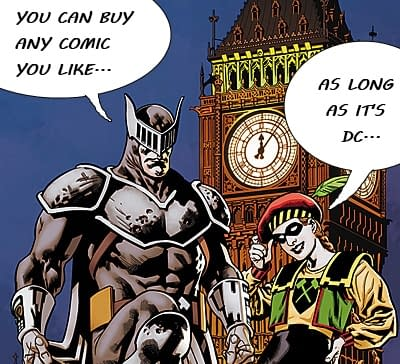 DC Comics Only This Week In The UK