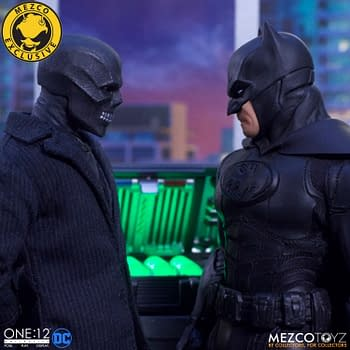 Batman: Sovereign Knight Fights Black Mask in New Mezco Box Set