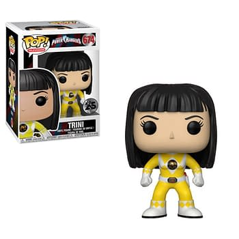 Funko Mighty Morphin Power Rangers Yellow Ranger Pop