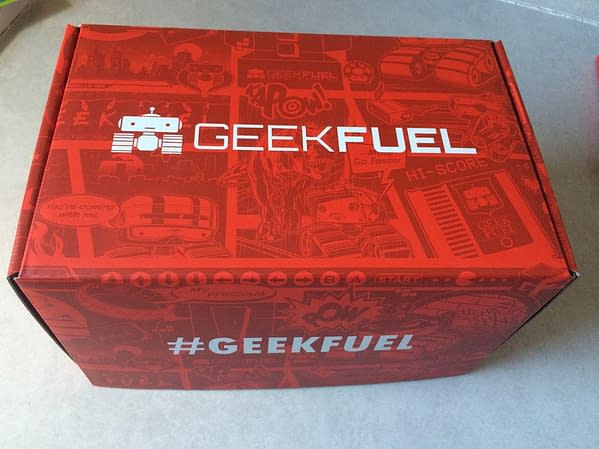 What's In The Box?! Geek Fuel – February 2018