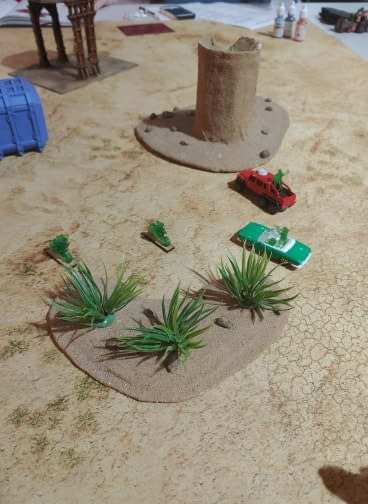 """Gaslands"" - War Rig vs Highway Patrol Battle Report"