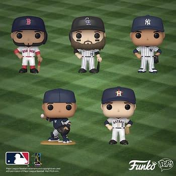 Funko Announces New Wave of Major League Baseball Pop Vinyls