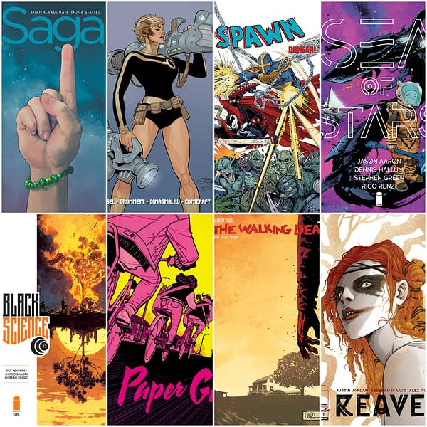 Paper Girls, Black Science and Skywards End - as Sea Of Stars, Unearth, Reaver and Space Bandits Begin in Image Comics July 2019 Solicits