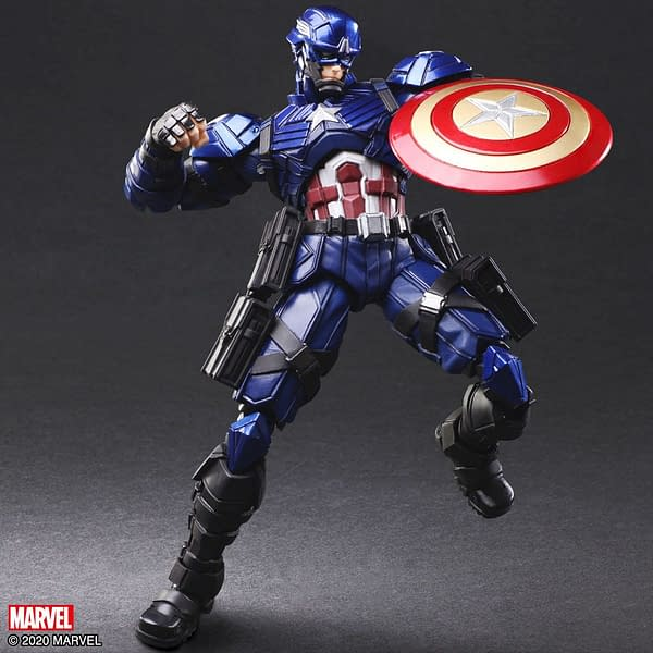 Square Enix Brings Back Their Marvel Universe Variant Figures