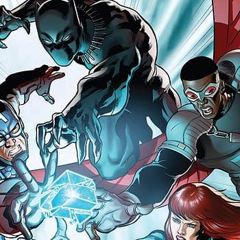 Avengers: Shards of Infinity #1 cover by Andrea di Vito and Laura Villari