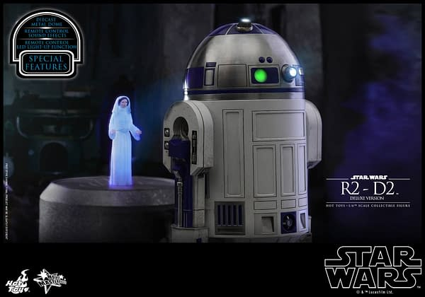 Star Wars Hot Toys R2 D2 Deluxe 4