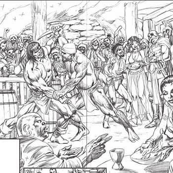 A Look at Roy Thomas and Alan Davis Savage Sword of Conan Prequel to People Of The Black Circle