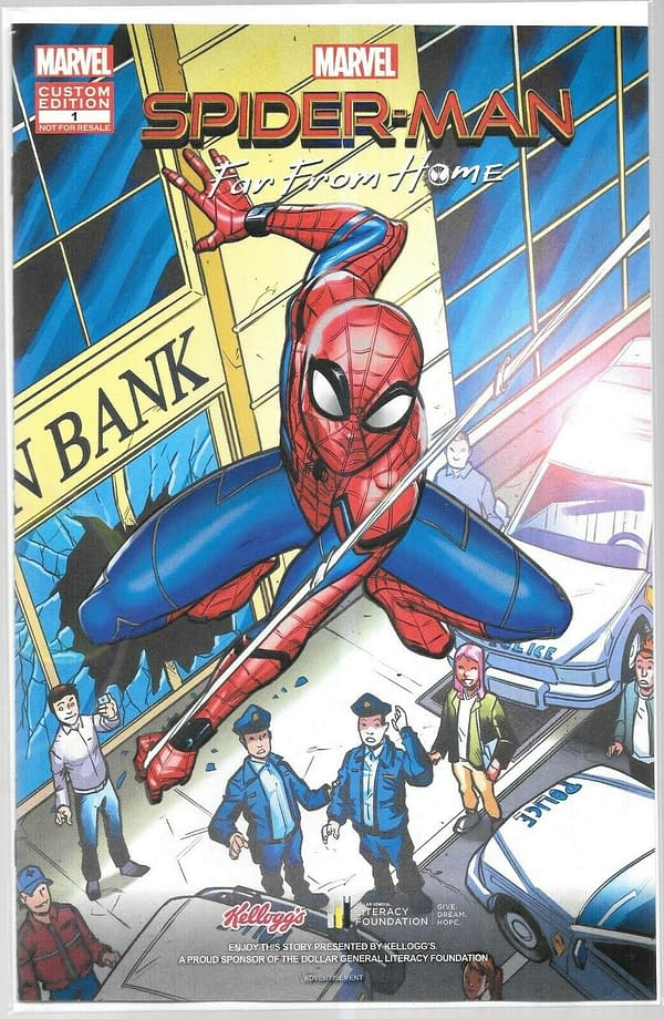 Buy For 2 Cents, Flip For $13 - the Spider-Man: Far From Home Kellogg's Comic