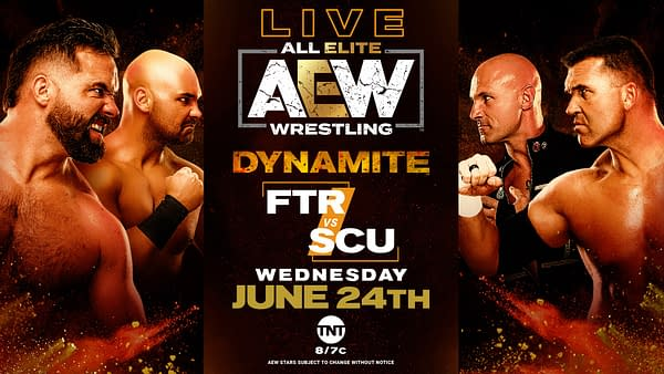 A look at Dynamite 6/24/2020 (Image: AEW)