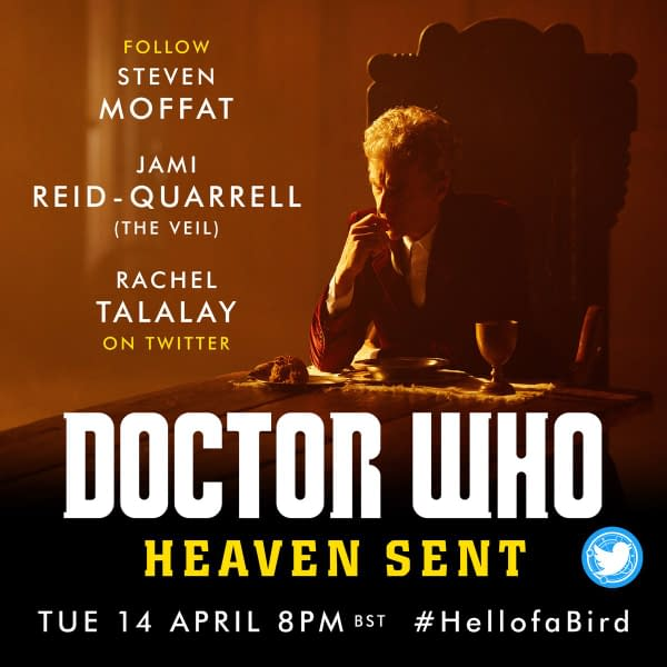 Steven Moffat, Rachel Talalay, and actor Jami Reid-Quarell are set to live-tweet the Doctor Who rewatch of Heaven Sent, courtesy of BBC Studios.