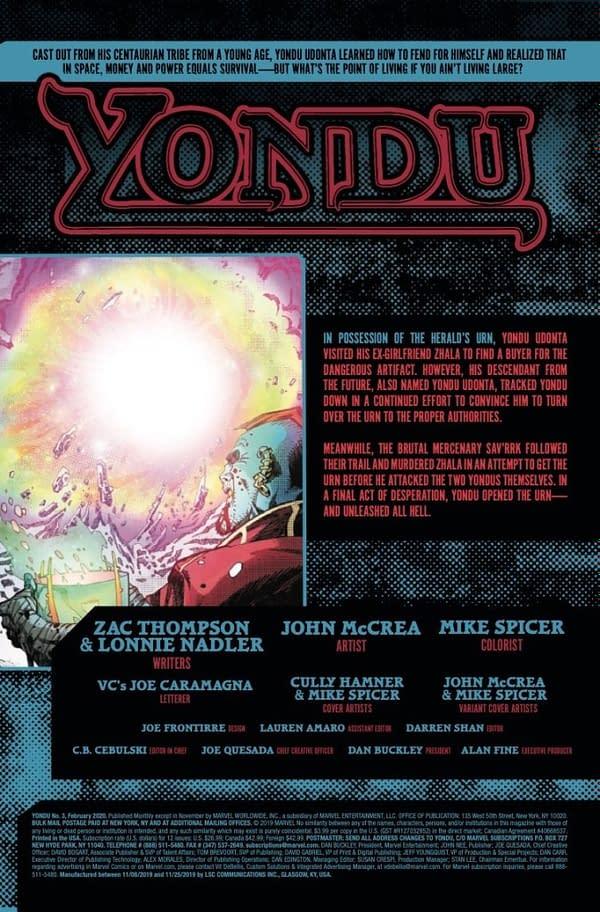 Yondu #3 [Preview]