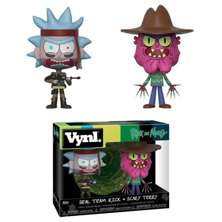 Funko Rick and Morty Seal Team Rick and Scary Terry Vynl Set