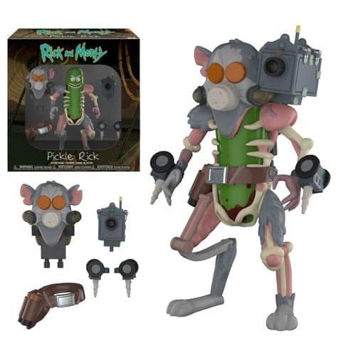 Funko Rick and Morty Pickle Rick Figure