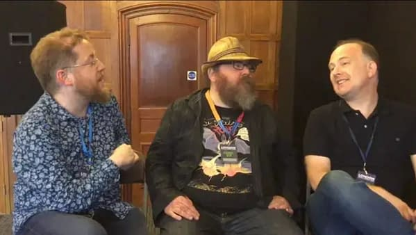 The Annual Marks In Comics Panel 2019, at London Film and Comic Con
