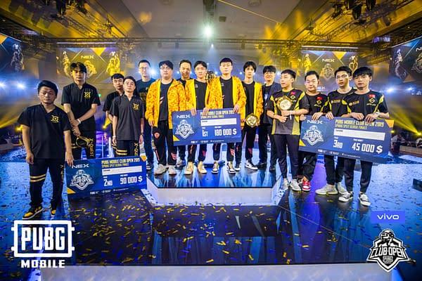 "TOP ESPORT Take ""PUBG Mobile"" Club Open Global Finals"