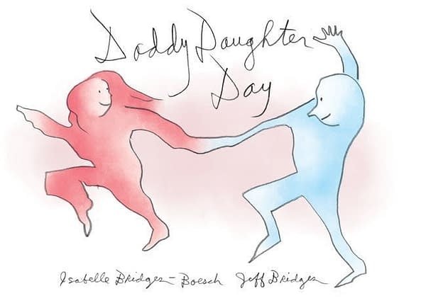 Dark Horse Doles Out Dude Sweaters for Daddy Daughter Day