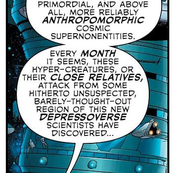 Grant Morrison Dissing Current Stae Of DC Comics in Green Lantern: Blackstars