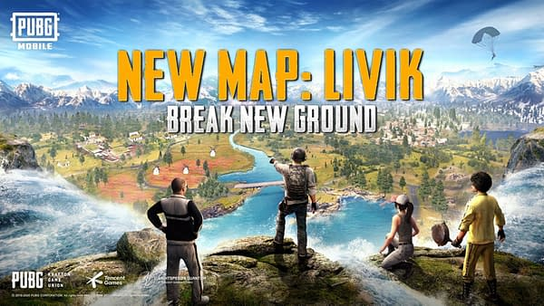 Is Livik a paradise or a hellscape in PUBG Mobile? Only one way to find out, courtesy of Tencent Games.
