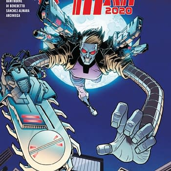 Machine Man 2020 #1 [Preview]