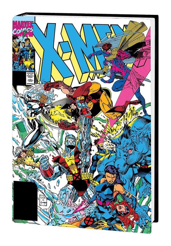 Marvel Doubles Price of Jim Lee XXL Hardcover