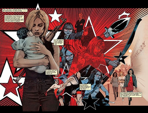 The Dead Hand #4 art by Stephen Mooney and Jordie Bellaire