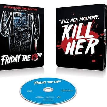 Friday The 13th 40th Anniversary Steelbook Releasing in May