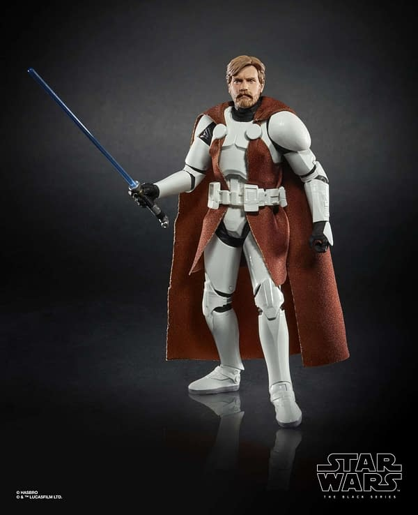 Star Wars The Black Series 6-inch Obi-Wan Kenobi (Clone Trooper Armor) Figure 1 Walgreens Exclusive