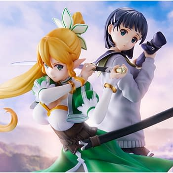"""Sword Art Online"" Returns to ALfheim with New Leafa Statue"