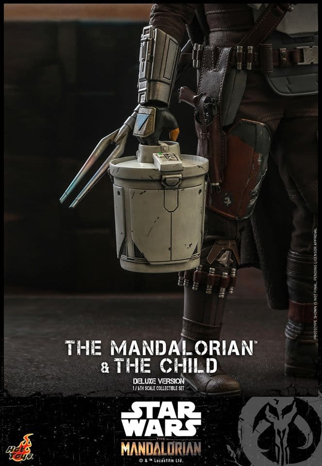 """The Mandalorian"" and The Child Finally Arrive at Hot Toy"