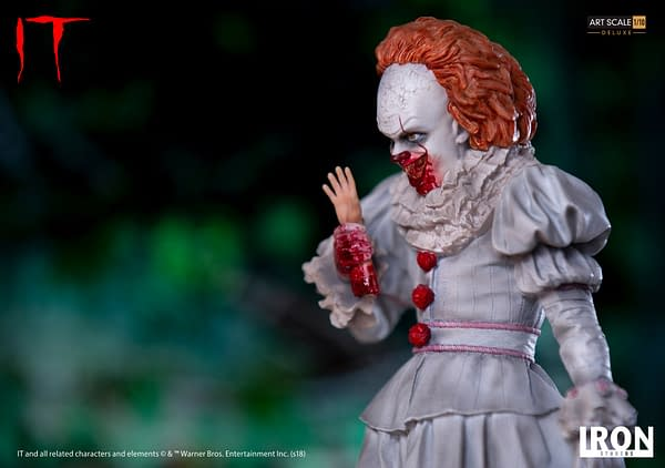 Pennywise Iron Studios Deluxe Edition 7