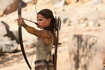 Tomb Raider - Alicia Vikander as Lara Croft
