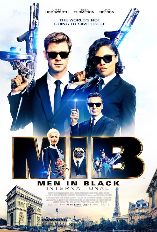 Men In Black: International Gets a Trailer and a Poster  - 'Just Point it at the Bad Guys and Pull the Trigger'