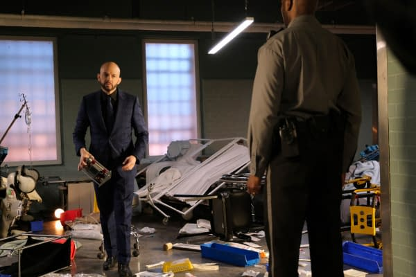 Jon Cryer as Lex Luthor in Supergirl, courtesy of The CW.