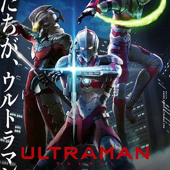 Ultraman Anime Series Renewed for Season 2 at Netflix