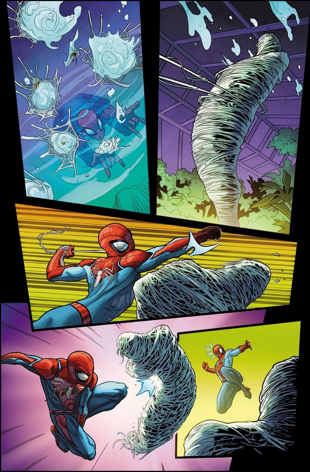 5 Pages and a Deadly Bee Weapon from Marvel's Spider-Man: Velocity #1 [Preview]