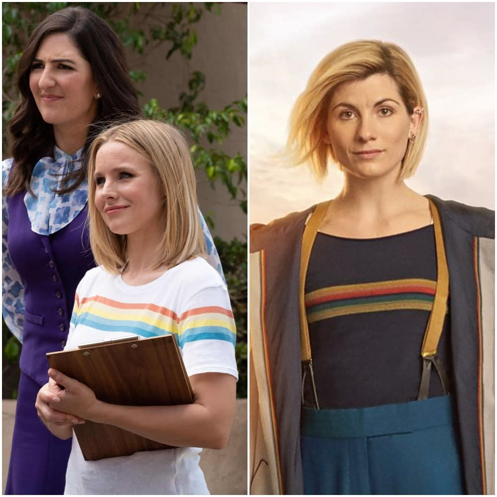 The Women of Doctor Who, The Good Place, and Brooklyn Nine-Nine: Bonded By Fashion (and Twitter)
