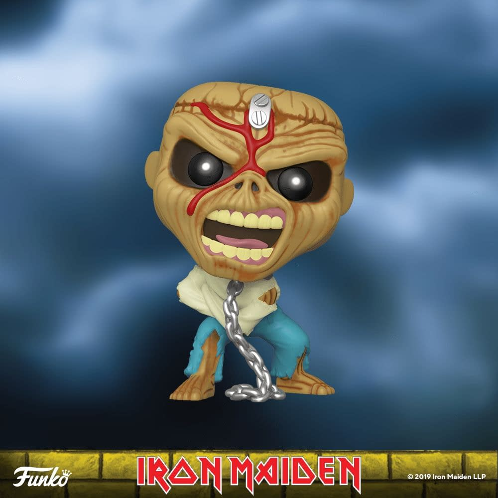 Iron Maiden Funko Are Having Us Run to the Hills