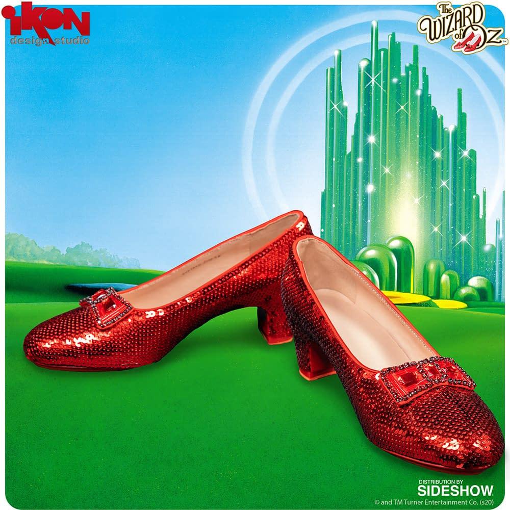 """The Wizard of Oz"" Ruby Slipper Replica Are Here from Ikon Design Studio"