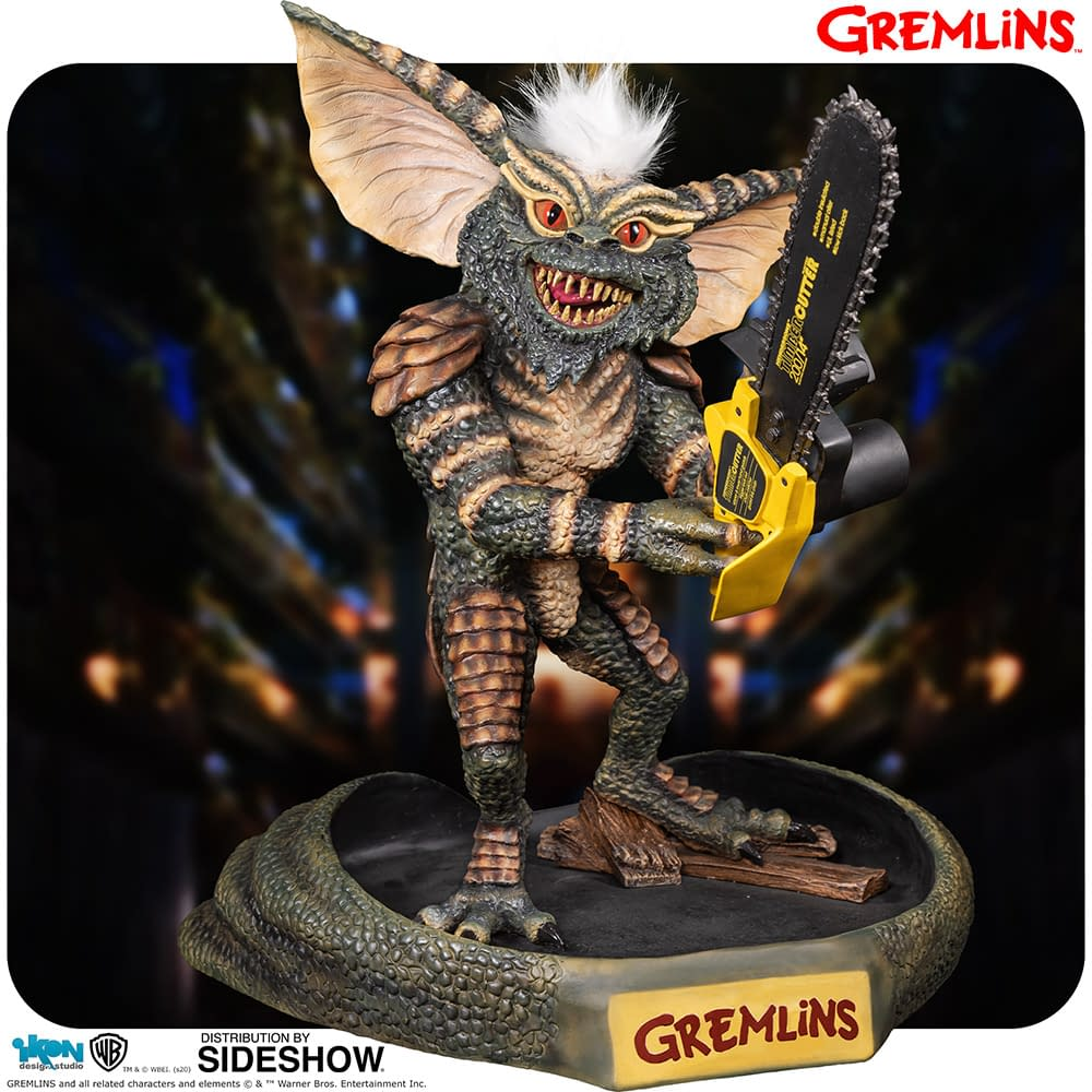 """Gremlins"" Stripe Arrives with New Statue from Ikon Collectibles"
