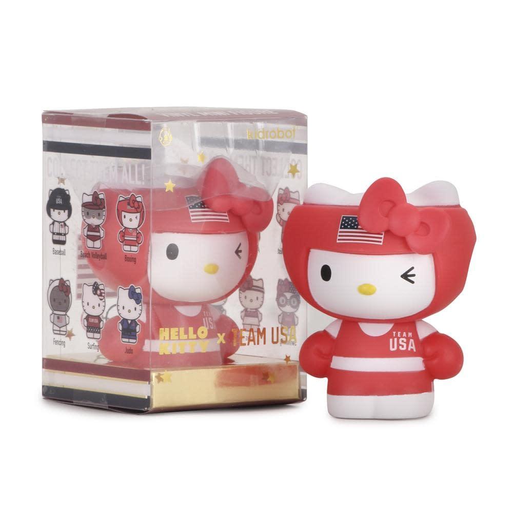 Sanrio Hello Kitty x Team USA figures from Kidro