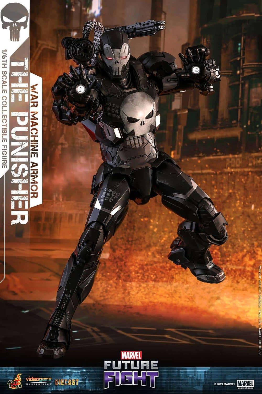 Marvel Future Fight War Machine Punisher 5