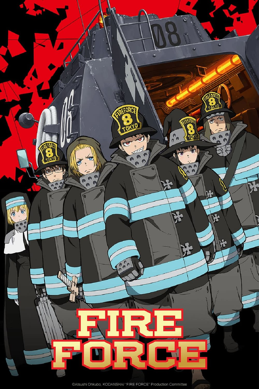 """""""Fire Force"""" Fires Up Crunchyroll Summer Lineup"""